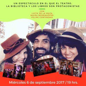 Espectáculo teatro + libros se presentara en Loncoche.