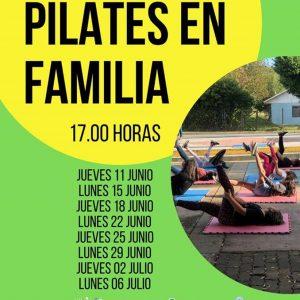 Invitación a Pilates en Cuarentena.