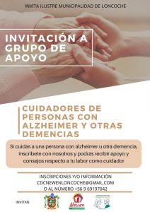 Invitación a Grupo de Apoyo.