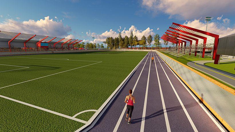 Ministra de Deportes anuncia construcción de polideportivo para este año en Loncoche.