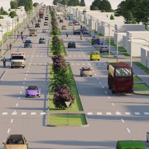 Loncoche se prepara para contar con una nueva y remozada Avenida Balmaceda.