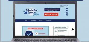 Sistema de Admisión Escolar On Line.