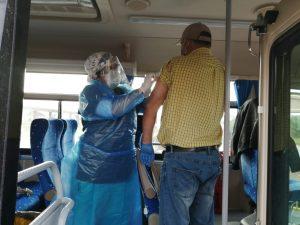 Loncoche lidera seguridad contra el coronavirus y sigue testeando gratuitamente.