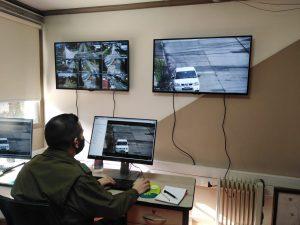 Loncoche cuenta con cámaras de seguridad del más alto estándar de vigilancia y resolución.