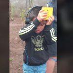 Personas en situación de discapacidad visual de Loncoche logran percibir eclipse con dispositivo único en el país.