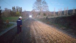 Caminos rurales siguen en prioridad para concejo municipal.