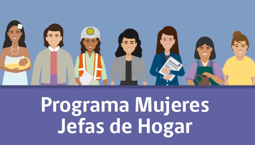 Dirección de Desarrollo Económico Local y el Programa Mujeres Jefas de Hogar, le invitan a ser parte del periodo de inscripción para Mujeres año 2021.
