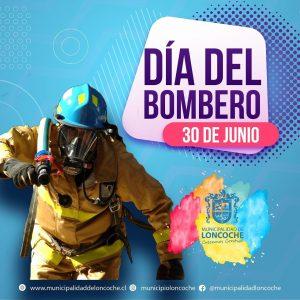FELIZ DÍA BOMBEROS DE CHILE.