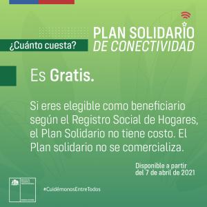 Plan Solidario de Conectividad.