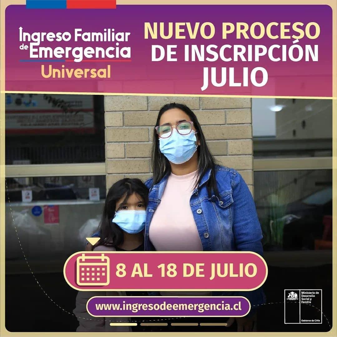 INSCRIPCIÓN JULIO #IFEUniversal.