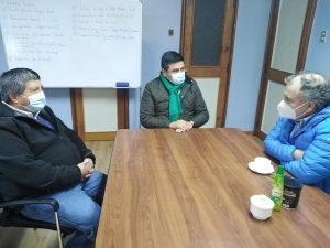 ALCALDE ALEXIS PINEDA RUIZ, SOSTIENE IMPORTANTE REUNIÓN COLABORATIVA.