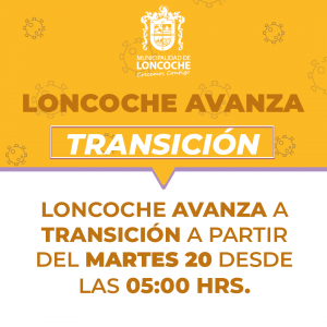 ¡LONCOCHE AVANZA A TRANSICIÓN!