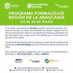 PROGRAMA FORMALÍZATE REGIÓN DE LA ARAUCANÍA.