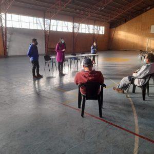 DELEGACIÓN MUNICIPAL DE HUISCAPI EN TERRENO.