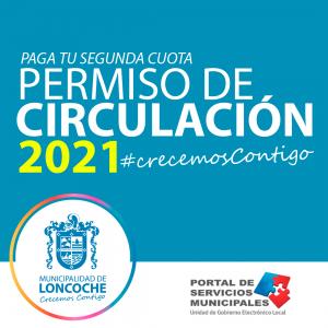 PAGA TU 2° CUOTA DE PERMISO DE CIRCULACIÓN 🚙