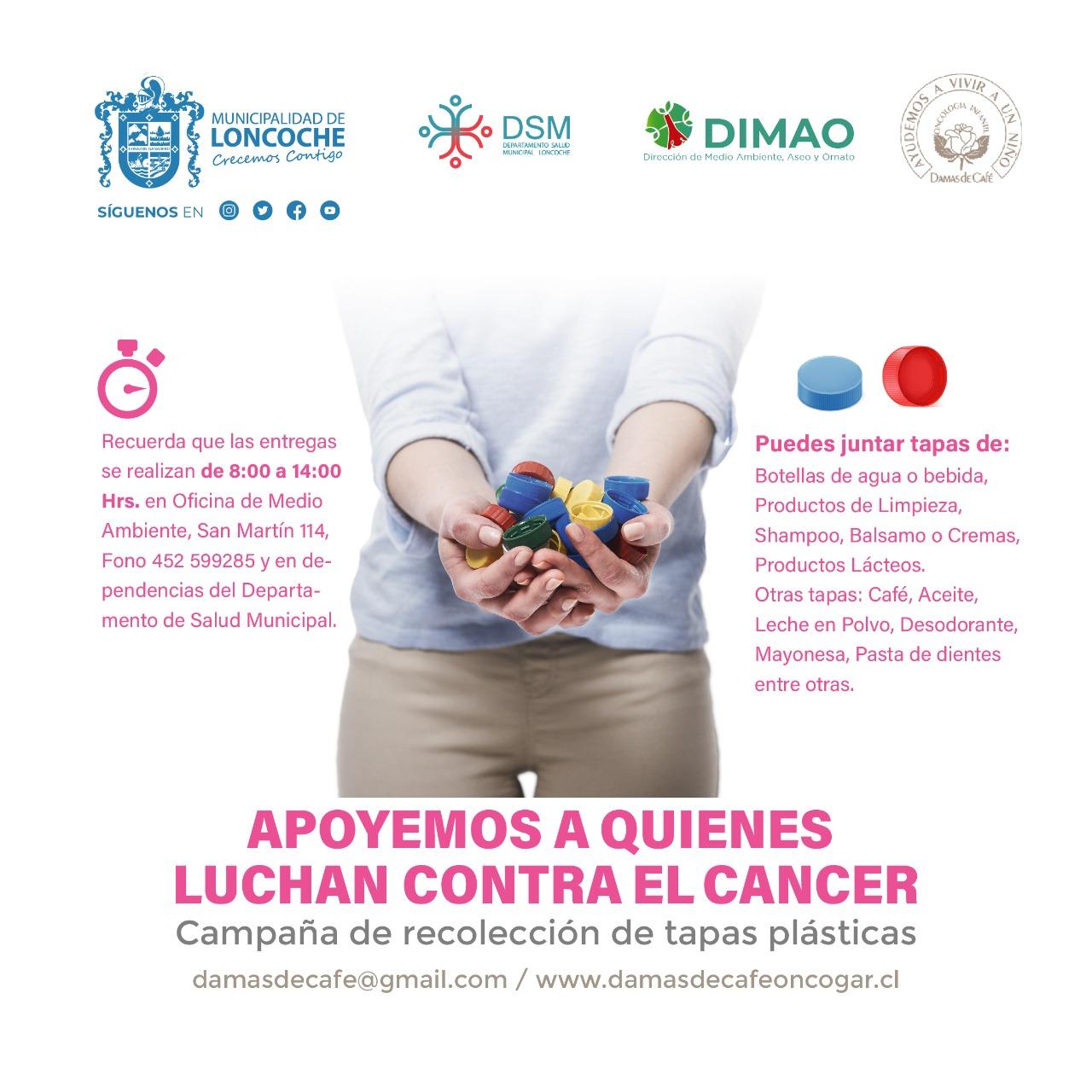 ¡APOYEMOS A QUIENES LUCHAN CONTRA EL CANCER!