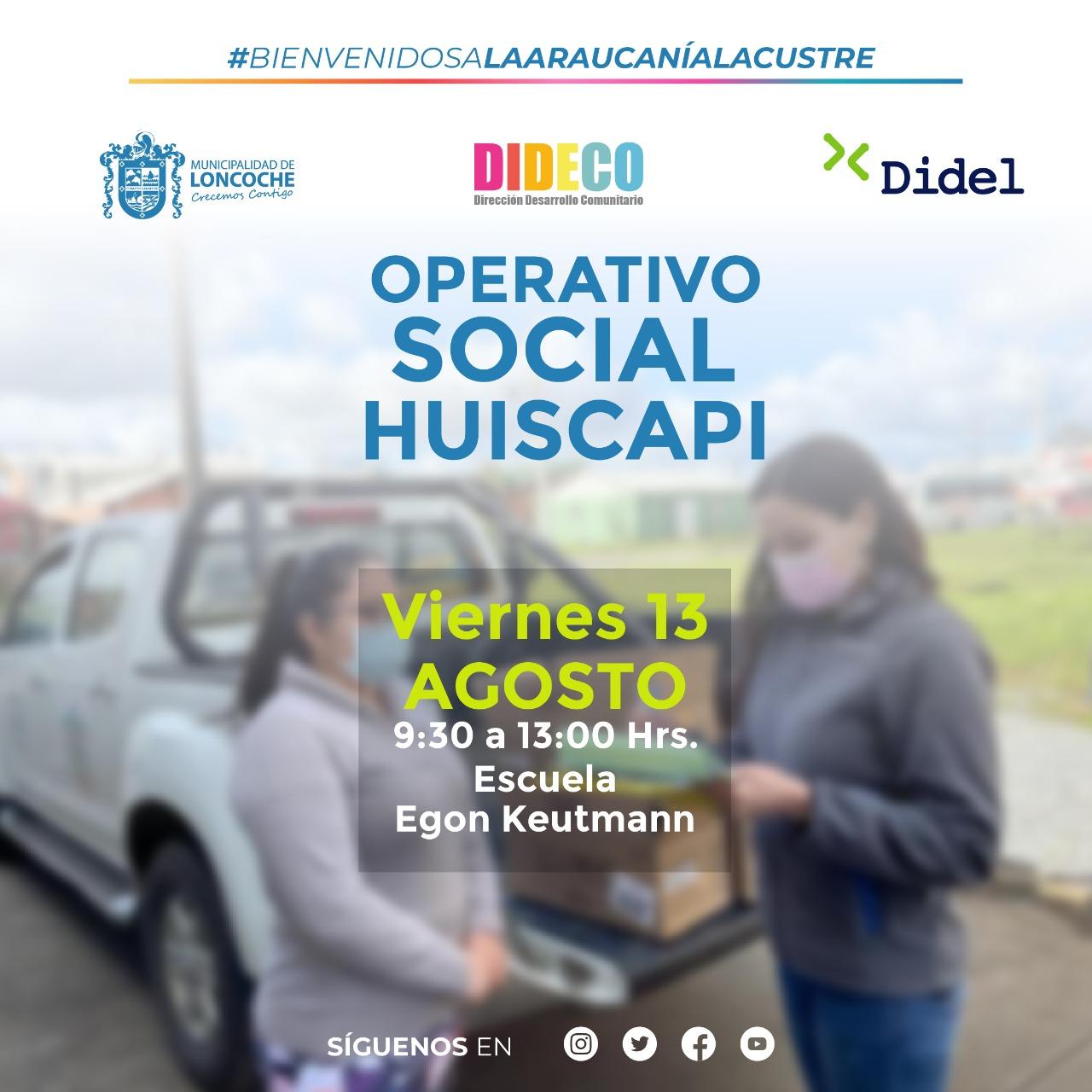 OPERATIVO SOCIAL #MUNICIPIOENTUBARRIO🏠🏠🏠 SECTOR HUISCAPI.