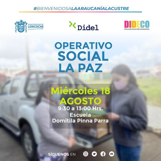 OPERATIVO SOCIAL #MUNICIPIOENTUBARRIO🏠🏠🏠 SECTOR LA PAZ