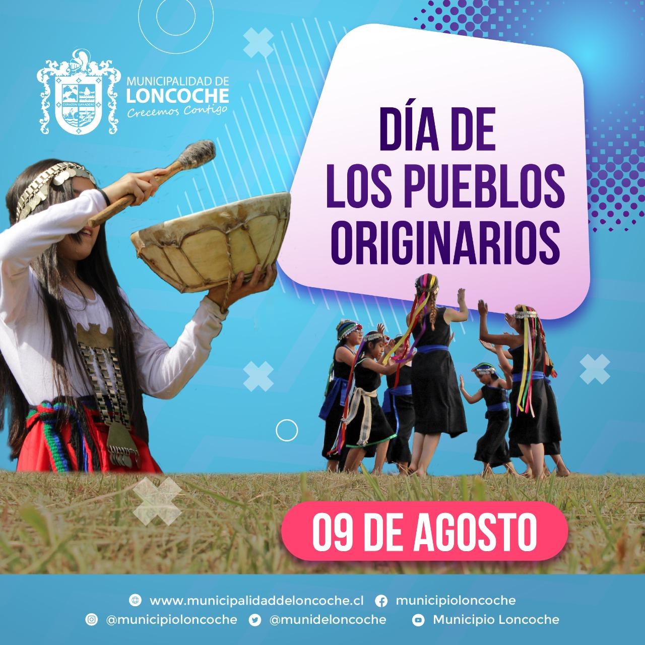 DÍA INTERNACIONAL DE LOS PUEBLOS ORIGINARIOS.
