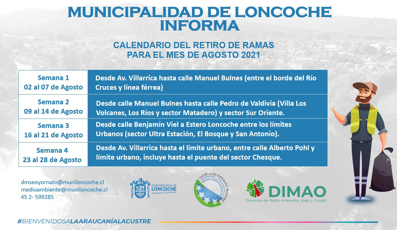 ¡ATENCIÓN VECINOS DE LONCOCHE!