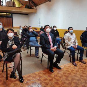 ALCALDE Y CONCEJO MUNICIPAL PARTICIPA DE SERVICIO ACCIÓN DE GRACIAS EVANGÉLICO.