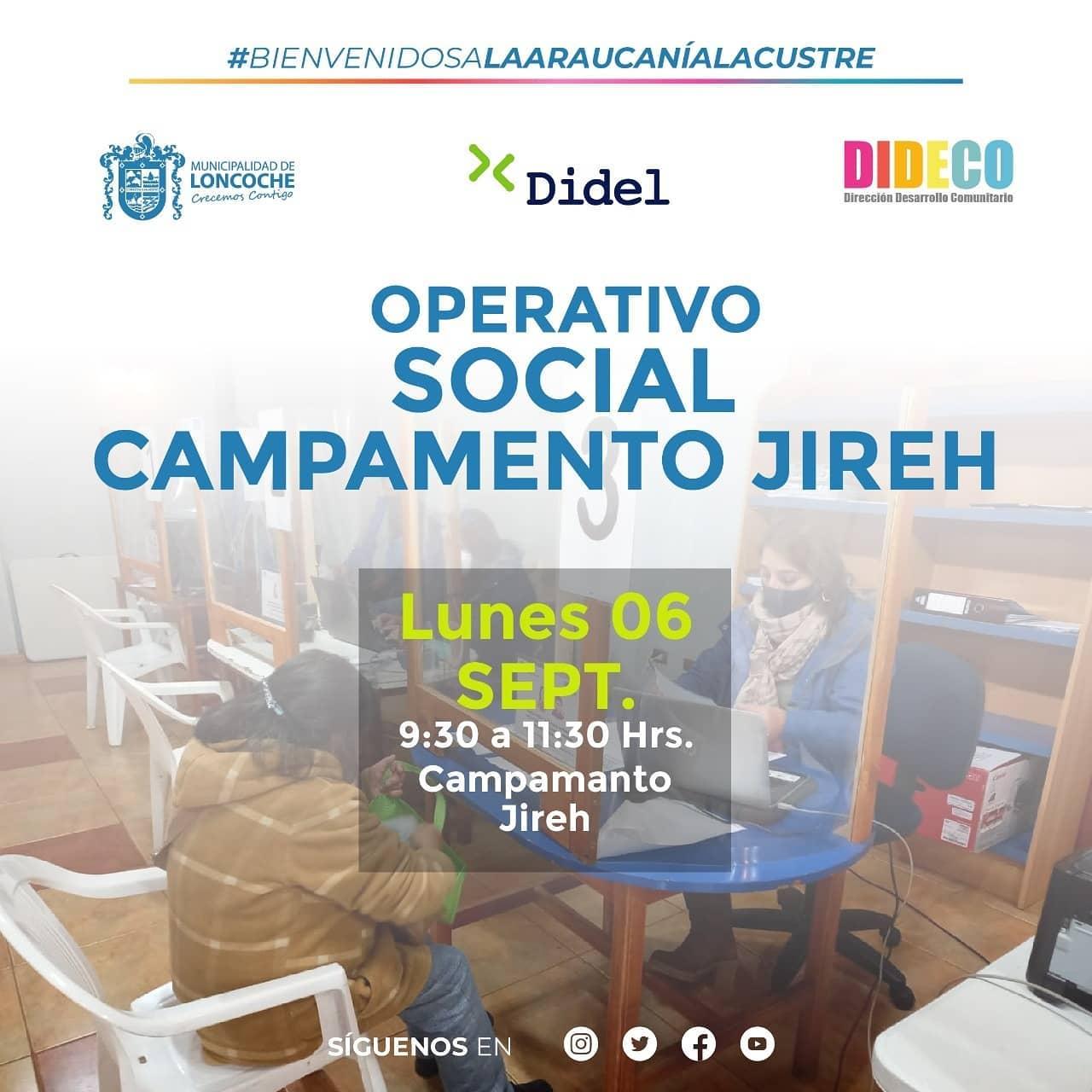 OPERATIVO SOCIAL ESTE LUNES 06 DE SEPTIEMBRE EN SUR ORIENTE.
