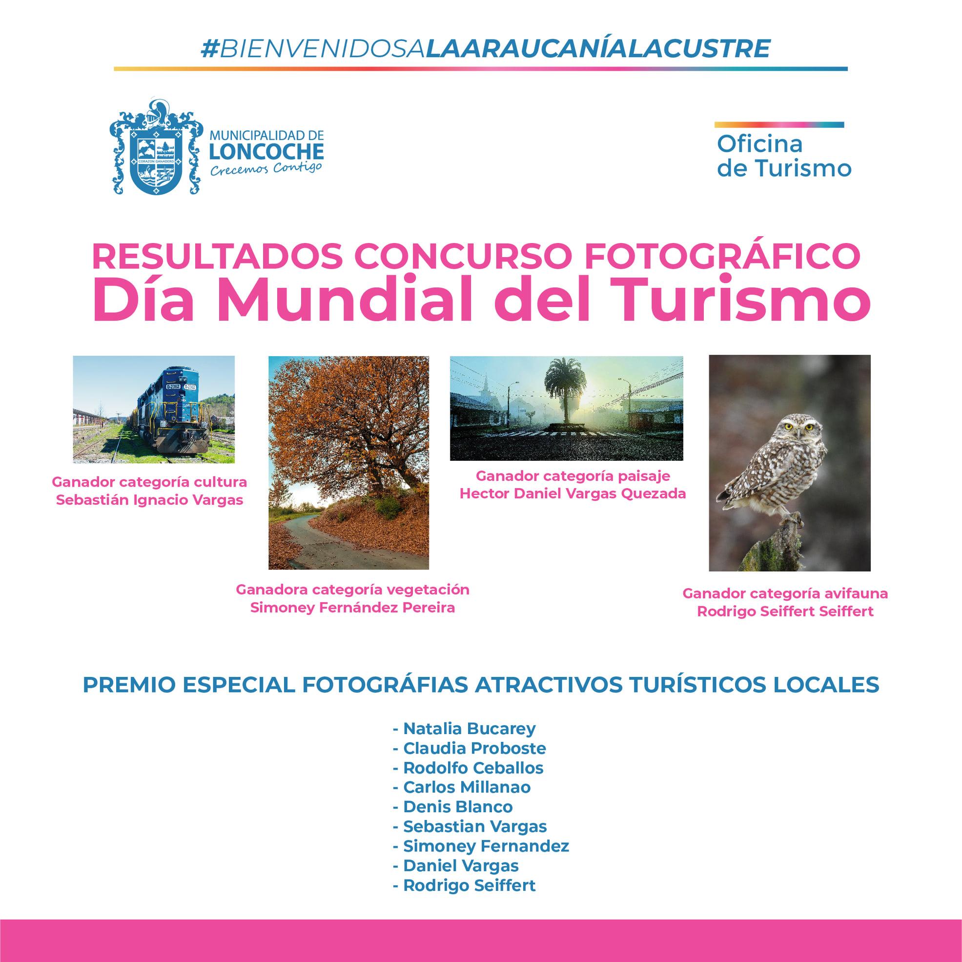 """CONCURSO DE FOTOGRAFÍA """"Día mundial del Turismo"""""""