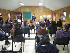 ALCALDE ALEXIS PINEDA RUIZ SE REUNE EN LA LOCALIDAD DE HUISCAPI CON ORGANIZACIONES COMUNITARIAS.