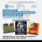 INVITACIÓN A PREMIACIÓN Y EXPOSICIÓN FOTOGRÁFICA LONCOCHE 2021.